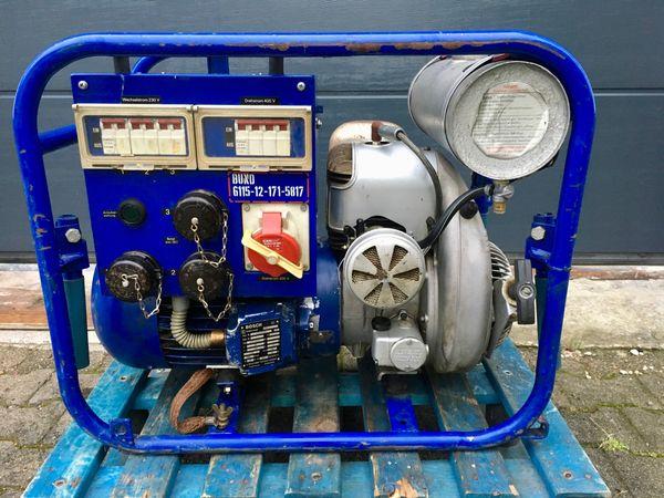 Stromerzeuger-Bosch eisemann BSKA 5 2-Takt