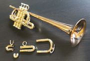 D Eb Es - Trompete Goldmessing