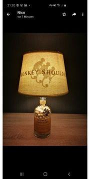 Whisky Flaschenlampe Tischlampe