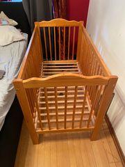 Babybett Höhenverstellbar
