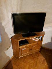 TV Eckschrank rustikal