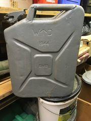 Stahl Benzin Kanister BJ 1943