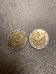 2 mal 2 Münzen Fehlprägung