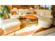 Tolle Sitzlandschaft Couch aus Leder