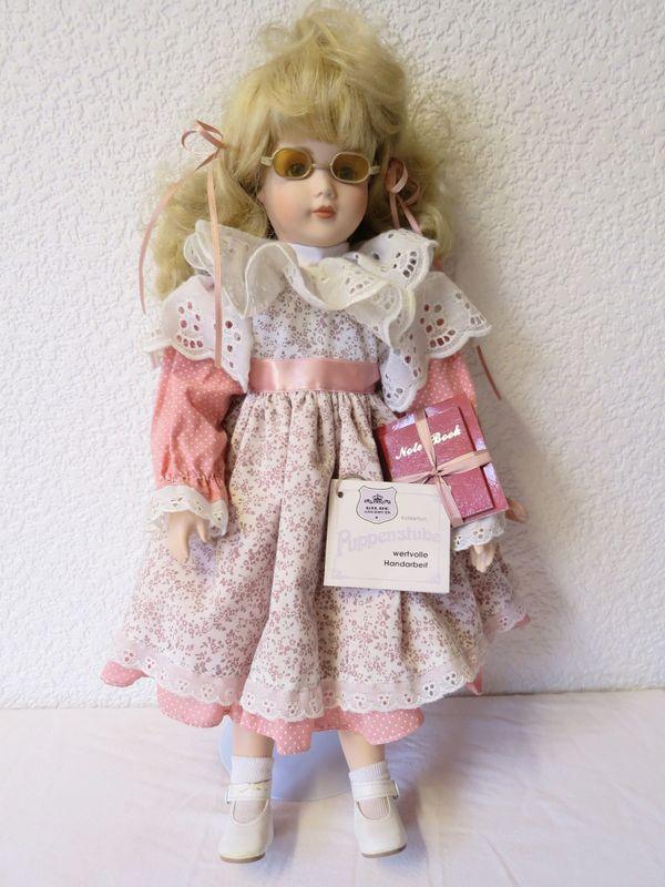Puppe GILDE Handwerk mit Zertifikat