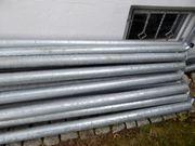 24 Stahlrohre verzinkt 1985mm Länge