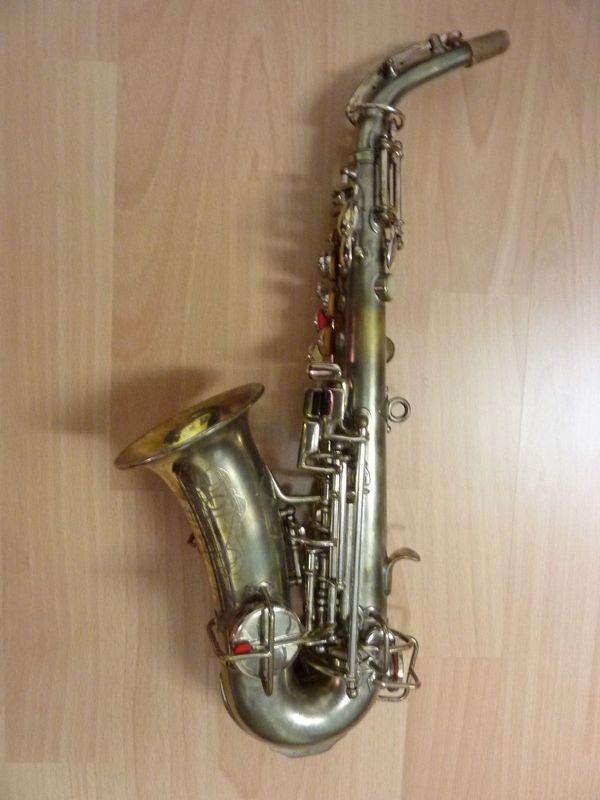 sopransaxophon Martin USA ca 30er