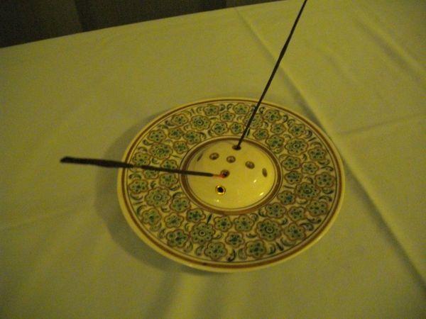Weihrauchspender aus Porzellan arabisch mit