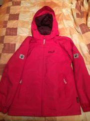 Jack Wolfskin Jacke pink Größe