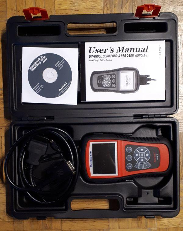 OBD2-Scanner Autel MaxiDiag Elite MD