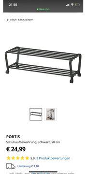 Ikea Schuhablage Portis