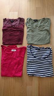 4 Umstandsshirts Gr S