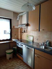Küche inkl Ceranfeld Kühlschrank Mikrowelle