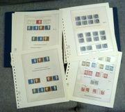 Bund Sammlung Zusammendrucke Blöcke Bogen