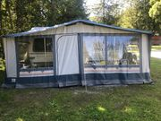 Bürstner Wohnwagen mit Vorzelt