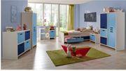 Ticaa Kinderzimmer Bett Kleiderschrank Schreibtisch