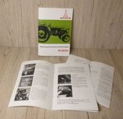 Bedienungsanleitung Deutz Schlepper Traktor D4005