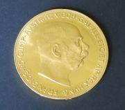 Goldmünze 100 Kronen Österreich