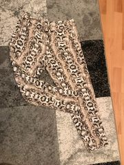 Stoffhose Schlangenmuster Größe 42 H