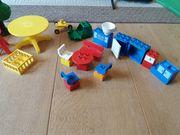 Bunte Mischung aus verschiedenen Lego