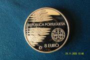 Portugal 2005 - 8 EUR Silbermünze -