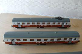 Bild 4 - 4-teiliger Reisezug der Schweizer Bahn - Remscheid