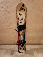 Snowboard mit Bindungen ca 155