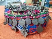 Afghanische alte Paschtunen Kappe zu