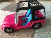 Barbie Auto mit Puppen