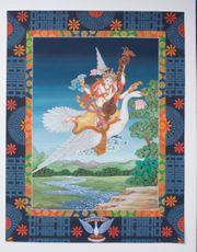 2 wunderschöne Thangkas - Thangka Kunst