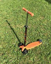 Kinderroller maxi micro T orange