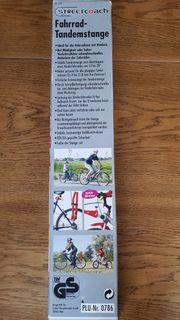 Fahrrad Tandem Stange Streetcouch