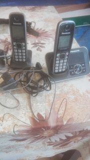 Panasonic Telefon mit Anrufbeantworter