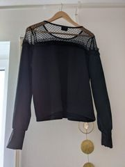Only Sweatshirt eher Größe L