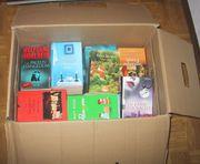 1 umzugskarton verschiedene Romane und
