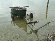 Demontierbarer Alu Slipwagen für flache