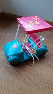 Barbie Golfcar