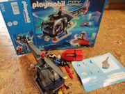 Playmobil 5764 Polizei Helikopter mit