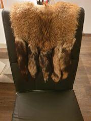Echtpelz Mantel Wildfuchs