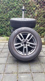 Winter Reifen auf Alufelgen Seat