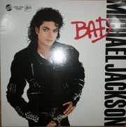 Michael Jackson Bad Langspielplatten LP