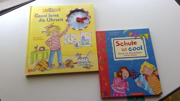 2 Kinder-Lern-Bücher Schule ist cool