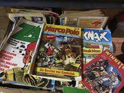 Großer Karton mit Jugendmagazine uvon