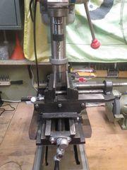 Säulenbohrmaschine Standbohrmaschine Tischbohrmaschine Mini Fräsmaschine