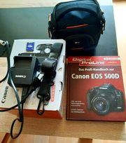 Fotoausrüstung Canon 500d