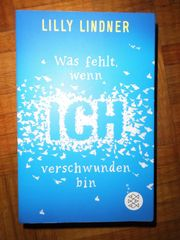 Buch Roman Lilly Lindner Was