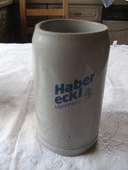 Bierkrug Habereckl Mannheim 1 Liter