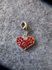 Herzanhänger Charm Geschenk Valentinstag