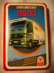 Kartenspiel Trucks Lastwagen Quartett von