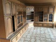 Wohnzimmer-Schrankwand L-Form